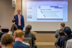 Seb coombs Commercial Manager of CEME